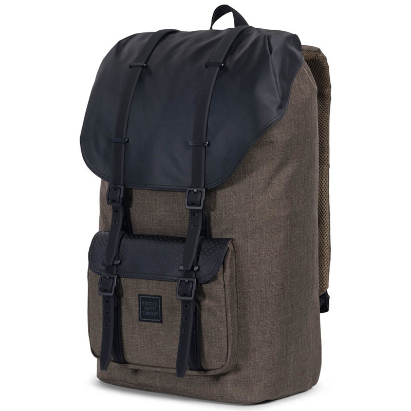 Canteen crosshatch/black