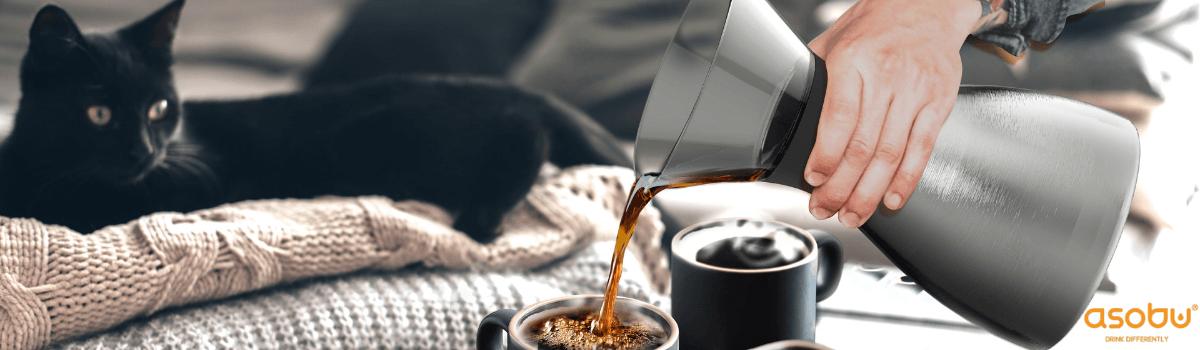 Asobu: kubki termiczne, na kawę, butelki