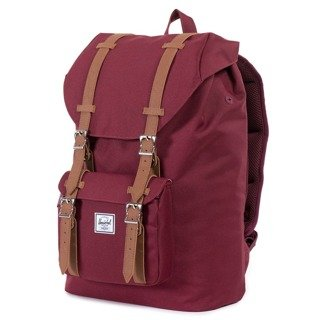 Plecak Herschel Little America Mid Volume - windsor wine/tan