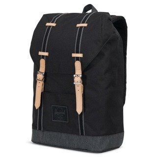 Plecak Herschel Retreat - black/block denim