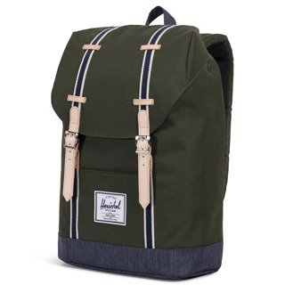 Plecak Herschel Retreat - forest night/dark denim