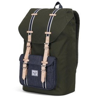 Plecak miejski Herschel Little America - forest night-dark denim