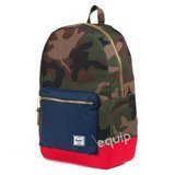 woodland camo/ navy/ red