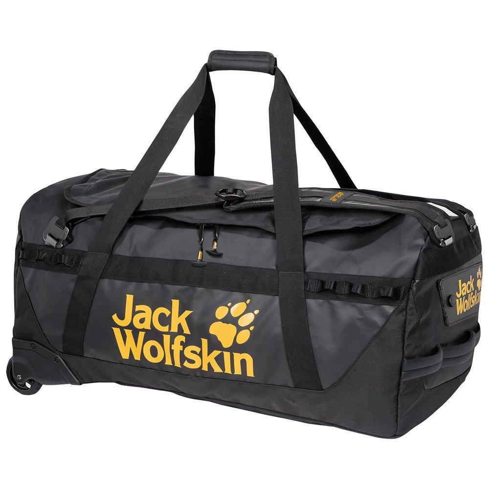 Plecak torba podróżna na kółkach Jack Wolfskin Expedition Roller 130 black