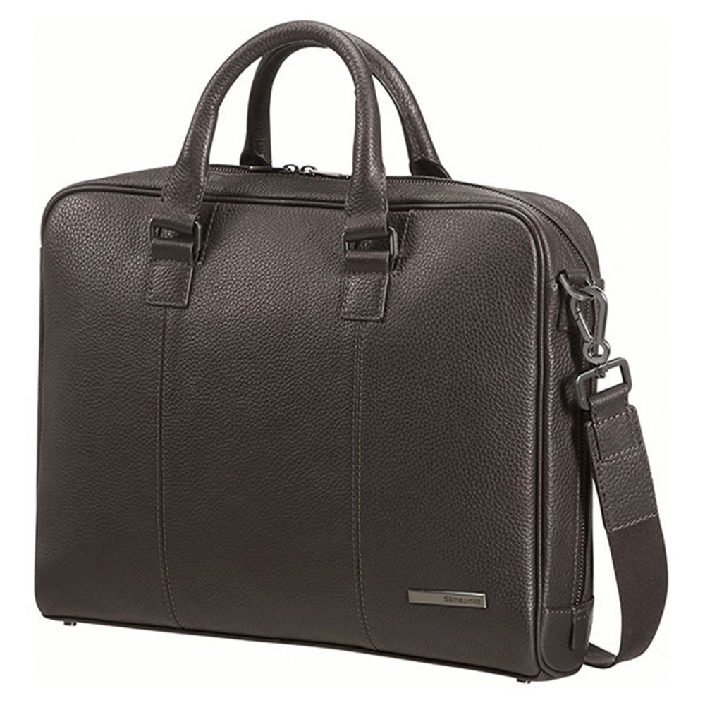 346a89dc193e5 Skórzana torba na laptopa Samsonite Equinox Bailhandle 14