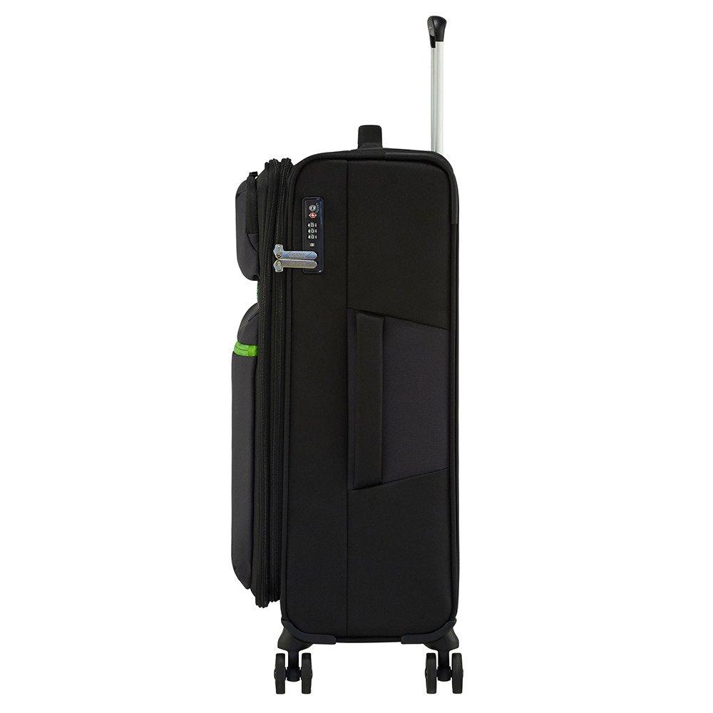 b13c934d08c80 ... Średnia poszerzana walizka lekka American Tourister Matchup na 4 kółkach  ...