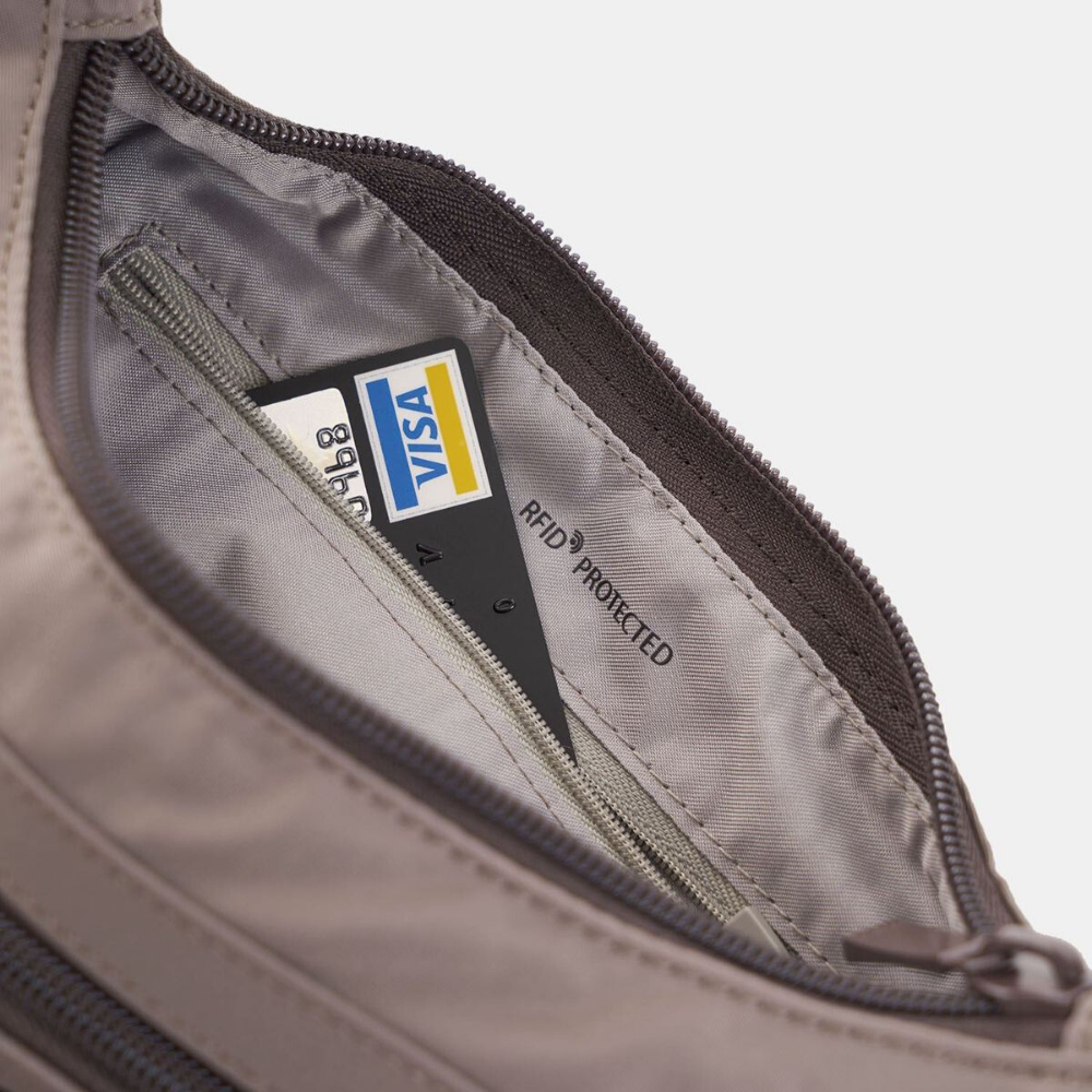 Torba na ramię Hedgren Prarie Shoulder Bag RFID sepia