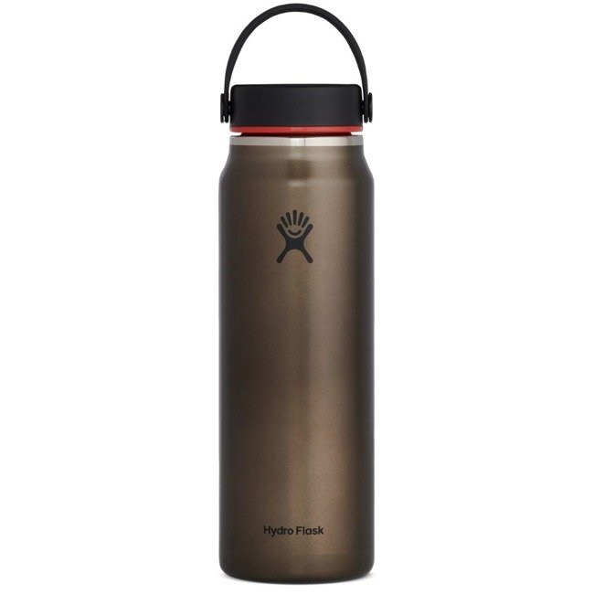 Butelka termiczna 946 ml Lightweight Wide Mouth Trail Series™ Hydro Flask - obsidian