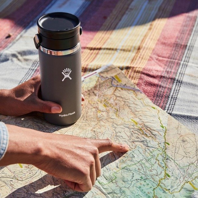 Kubek termiczny 16 oz Coffee with Flex Sip Lid Hydro Flask - olive