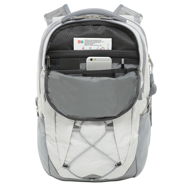 Mejski plecak The North Face W Borealis tnf white mettallic/midgry