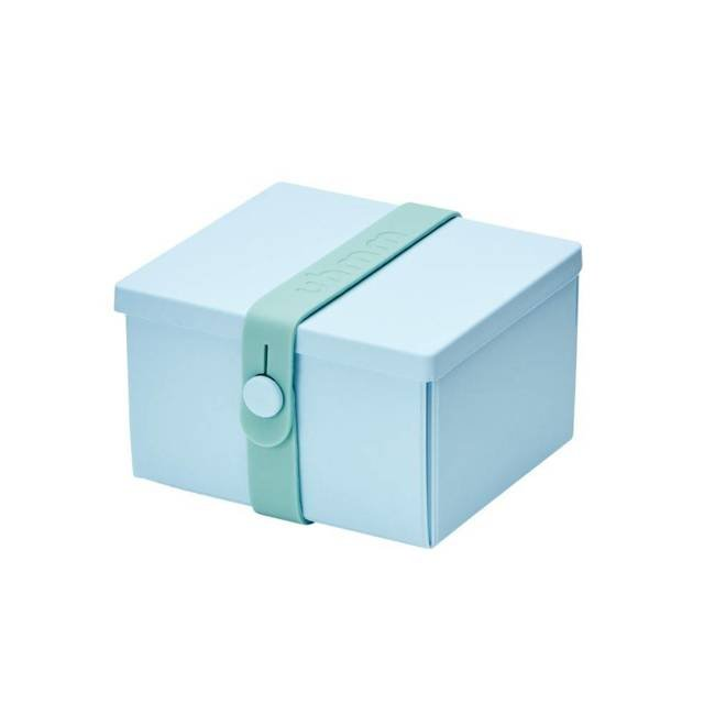 No.02 lunchbox na obiady Uhmm - light blue / mint