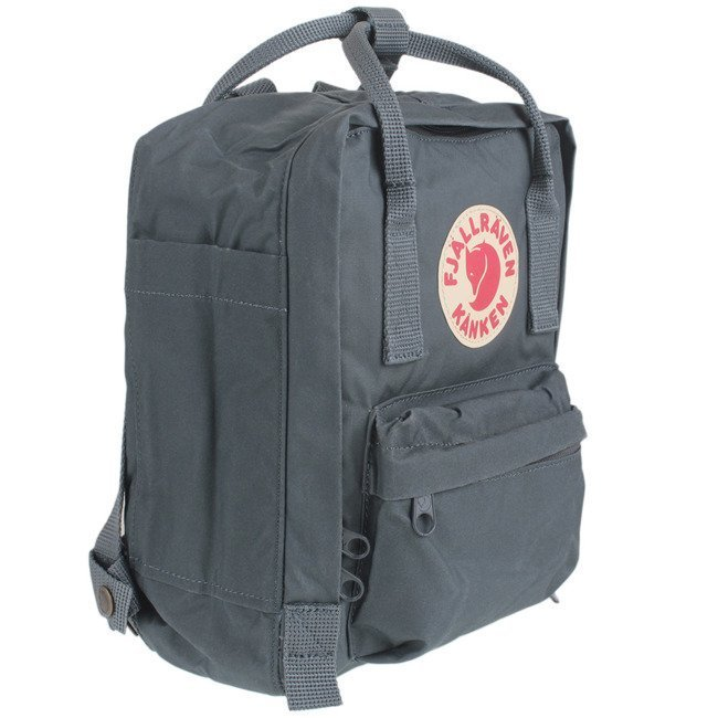 Plecak Fjallraven Kanken Mini - black / ox red