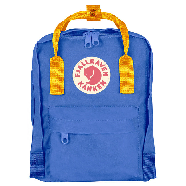 Plecak Fjallraven Kanken Mini - un blue/warm yellow