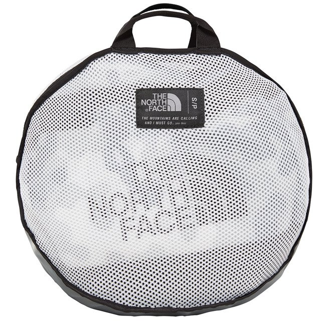 Podróżna torba The North Face Base Camp Duffel S NE white mcr/bnlack