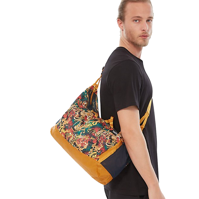 Składana torba podróżna The North Face Flyweight Duffel leopard yellow