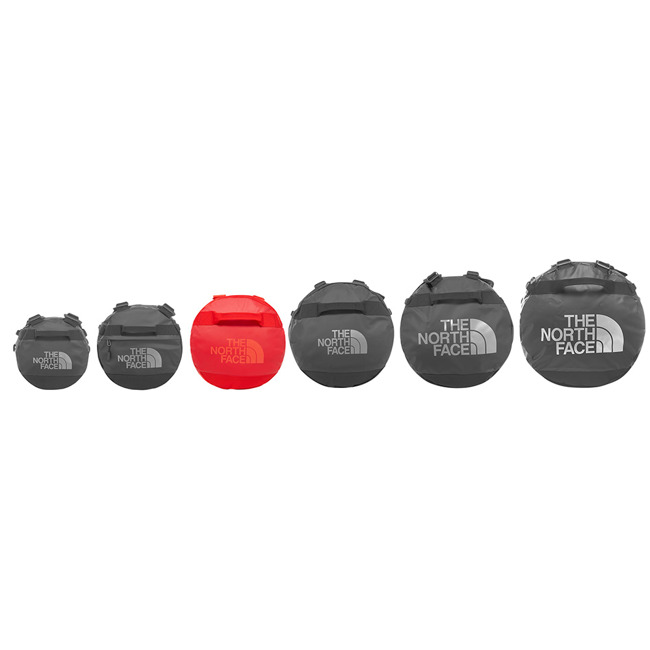 Średnia torba podróżna The North Face Base Camp Duffel M NE rage red/fiery red