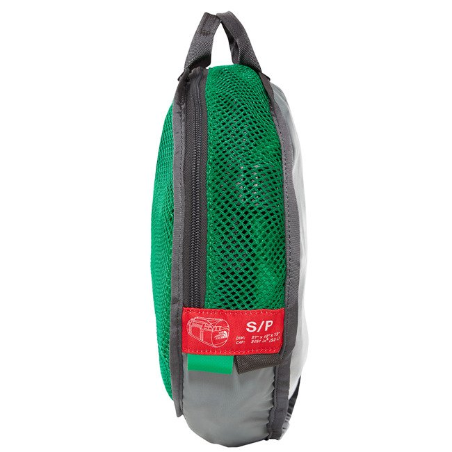 The North Face torba sportowa Base Camp Duffel S NE primary green/asphalt grey