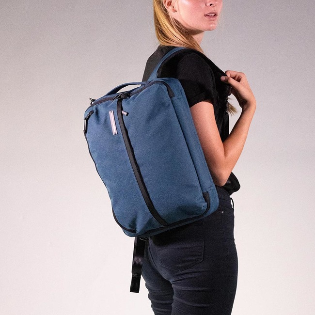 Torba na laptopa plecak Hedgren Focal - legion blue