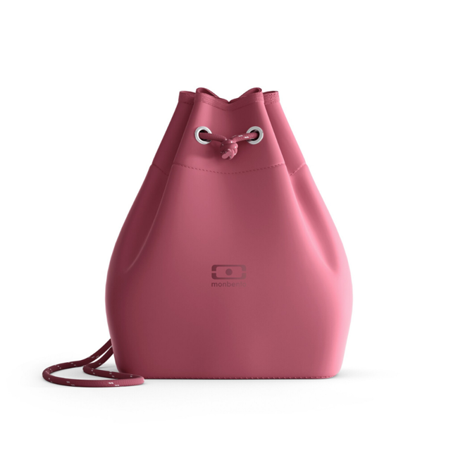Torba termiczna na lunch box MB E-zy Monbento The eco-designed insulated bag - blush