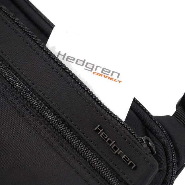 Torebka na ramię Hedgren Sally Crossover Safety Hook RFID - black