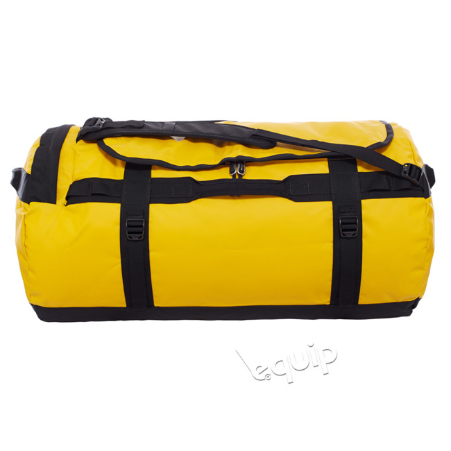 Turystyczna torba The North Face Base Camp Duffel L II summit gold