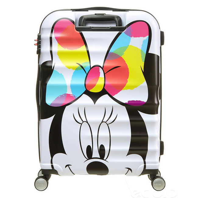 Walizka średnia American Tourister Wavebreaker Disney - minnie close up
